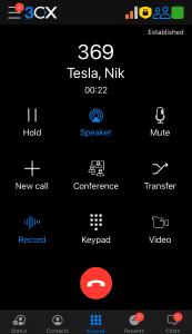 answered call 2
